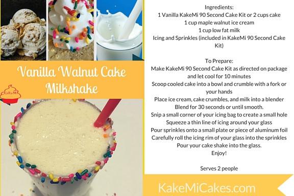 Cake Milkshake