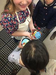 Cake Decoratng with Children