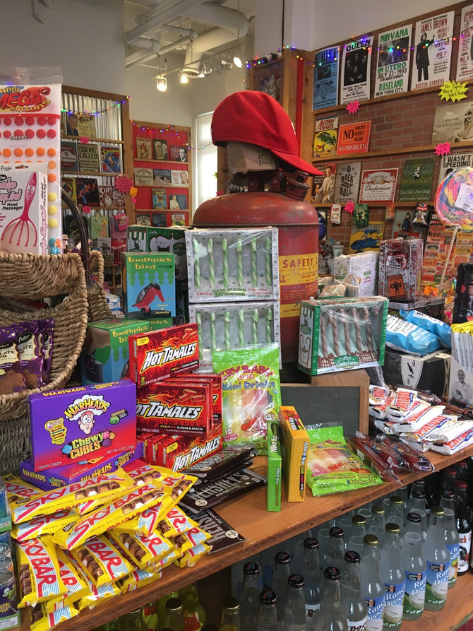 KakeMi is in Rocket Fizz Soda Pop and Candy Shop!