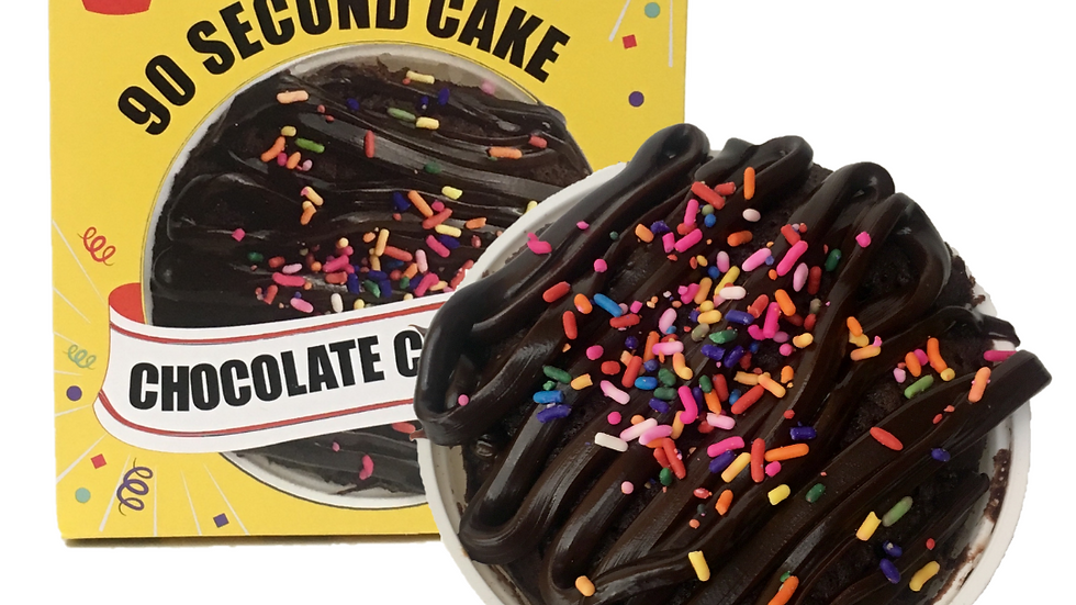 Chocolate 90 Second Cake 4-Pack