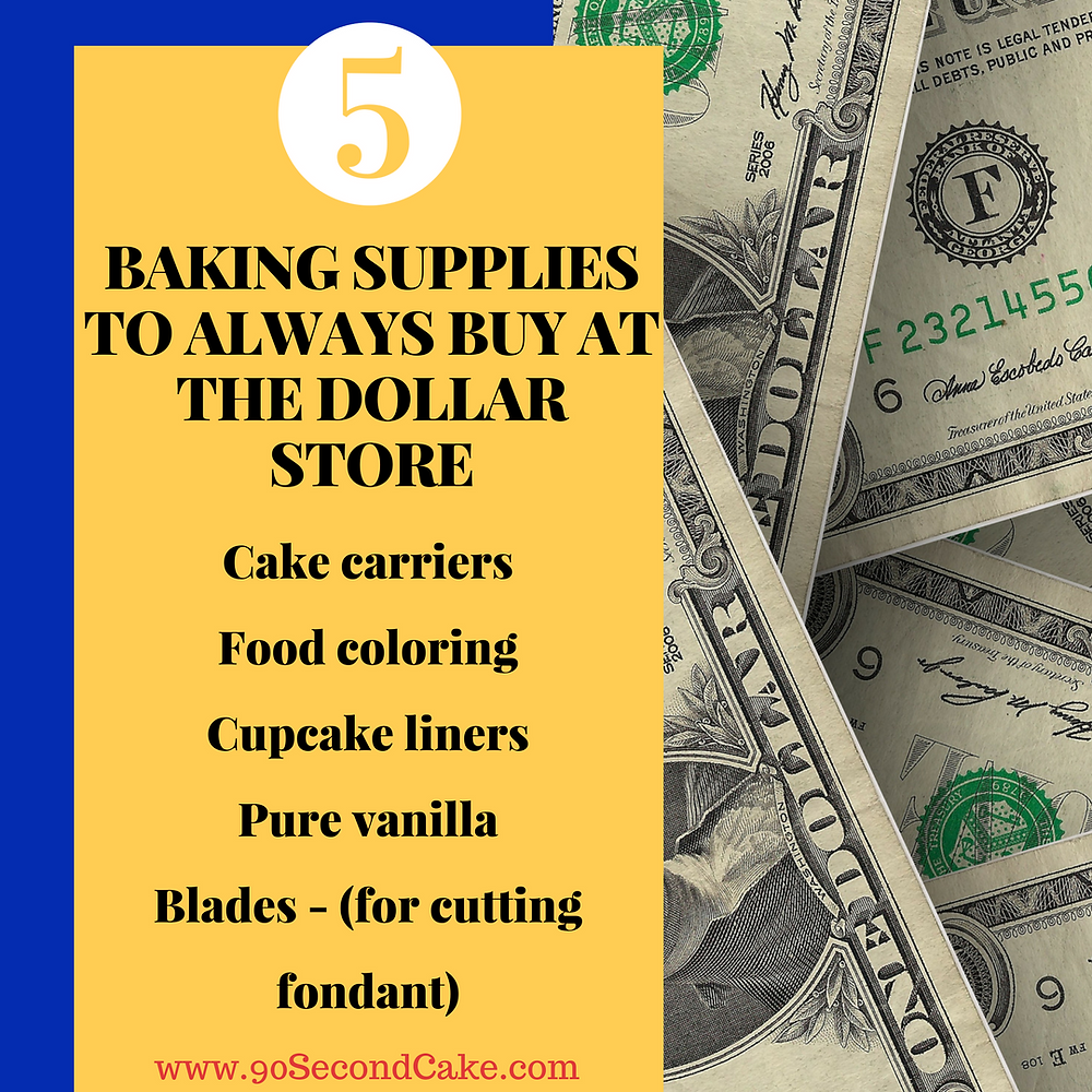 5 Cake Decorating Tools To Buy At The Dollar Store