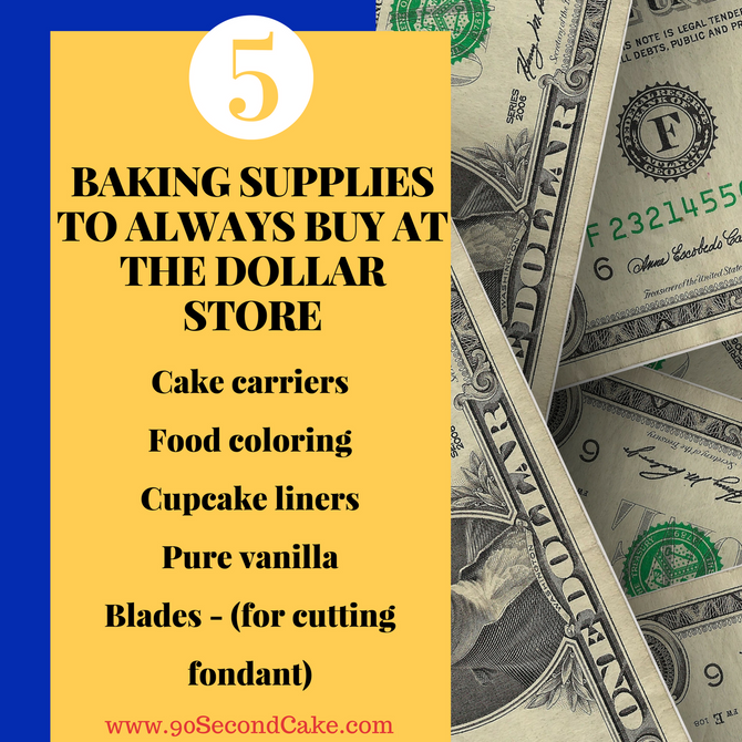 Cake Decorating For $1