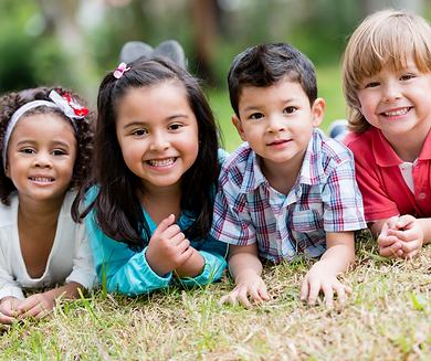 Smiling Happy Children