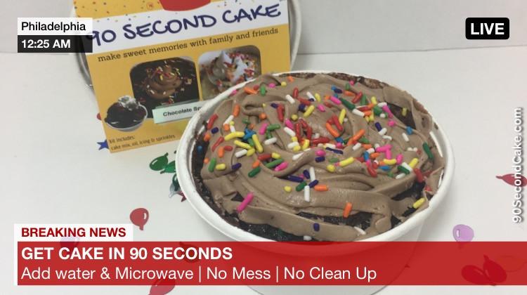 90 Second Cake Fake News