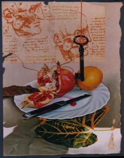 Pomegranate with Key