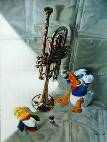Trumpet and a Toy