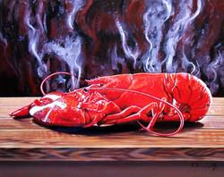 Still Life with Lobster