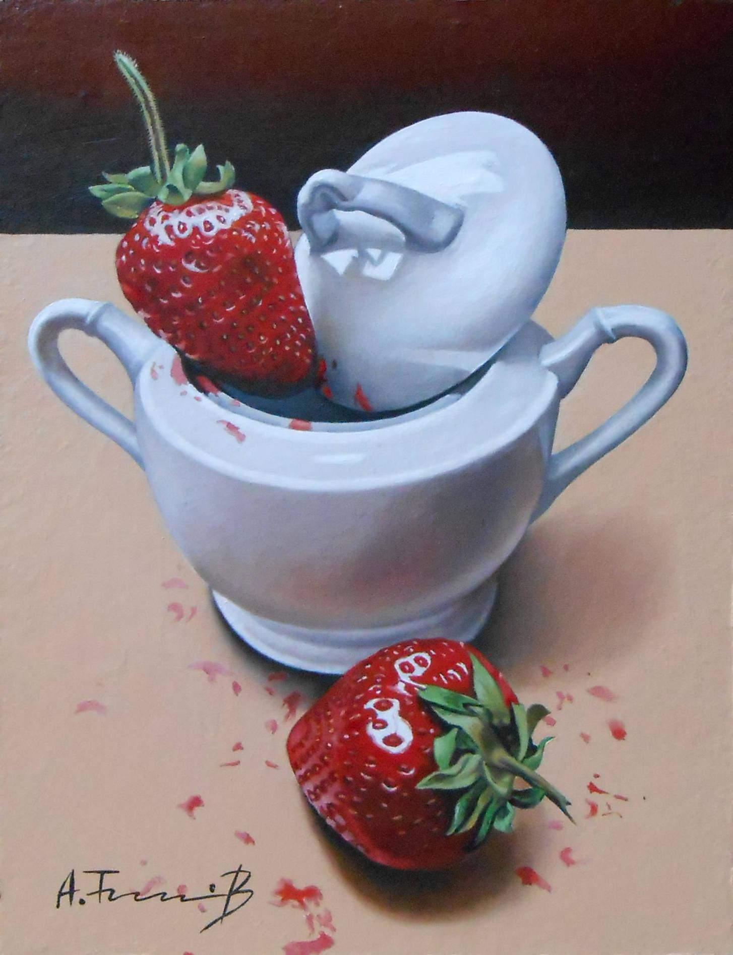 Strawberry in a Sugar Bowl