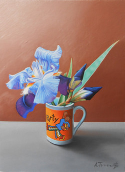 Iris in a Cup