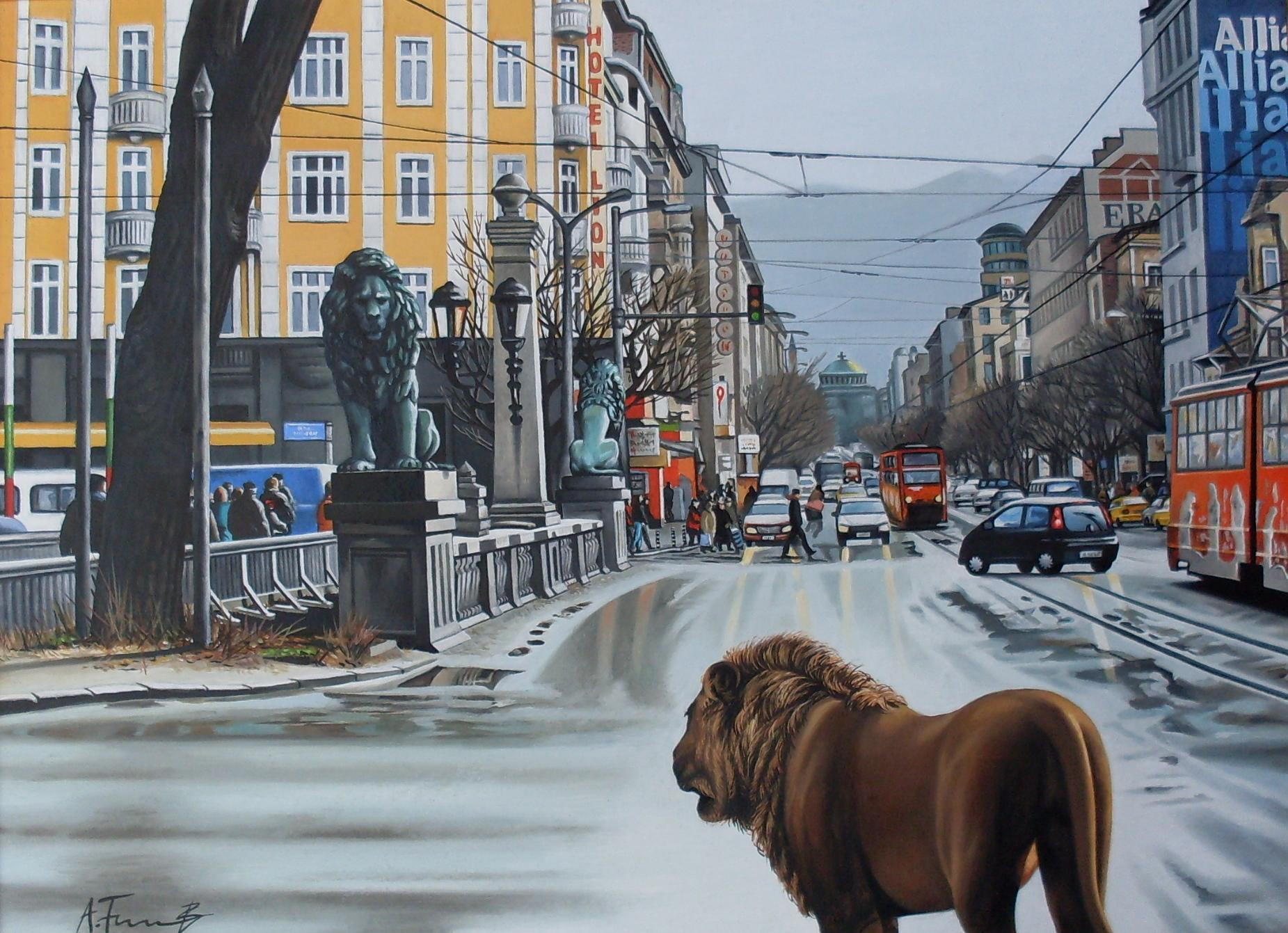 Lions' Bridge, Sofia