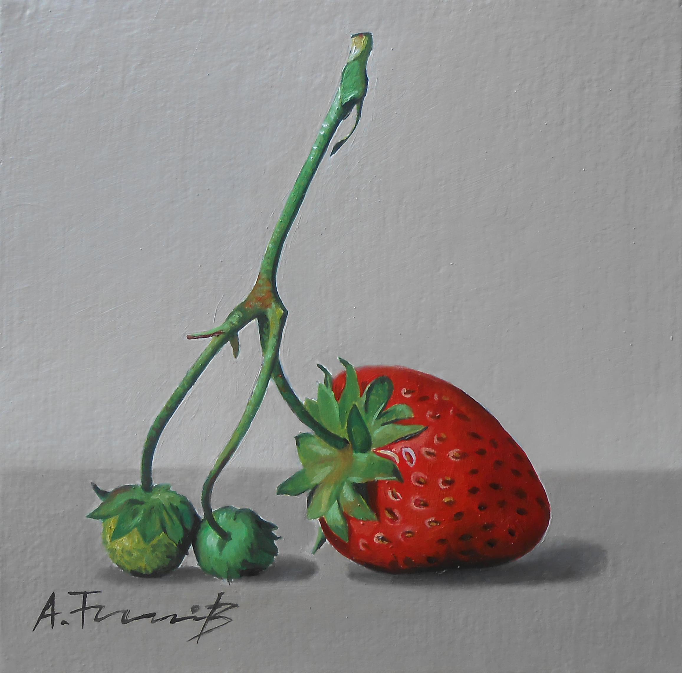 Still Life with Wild Strawbery