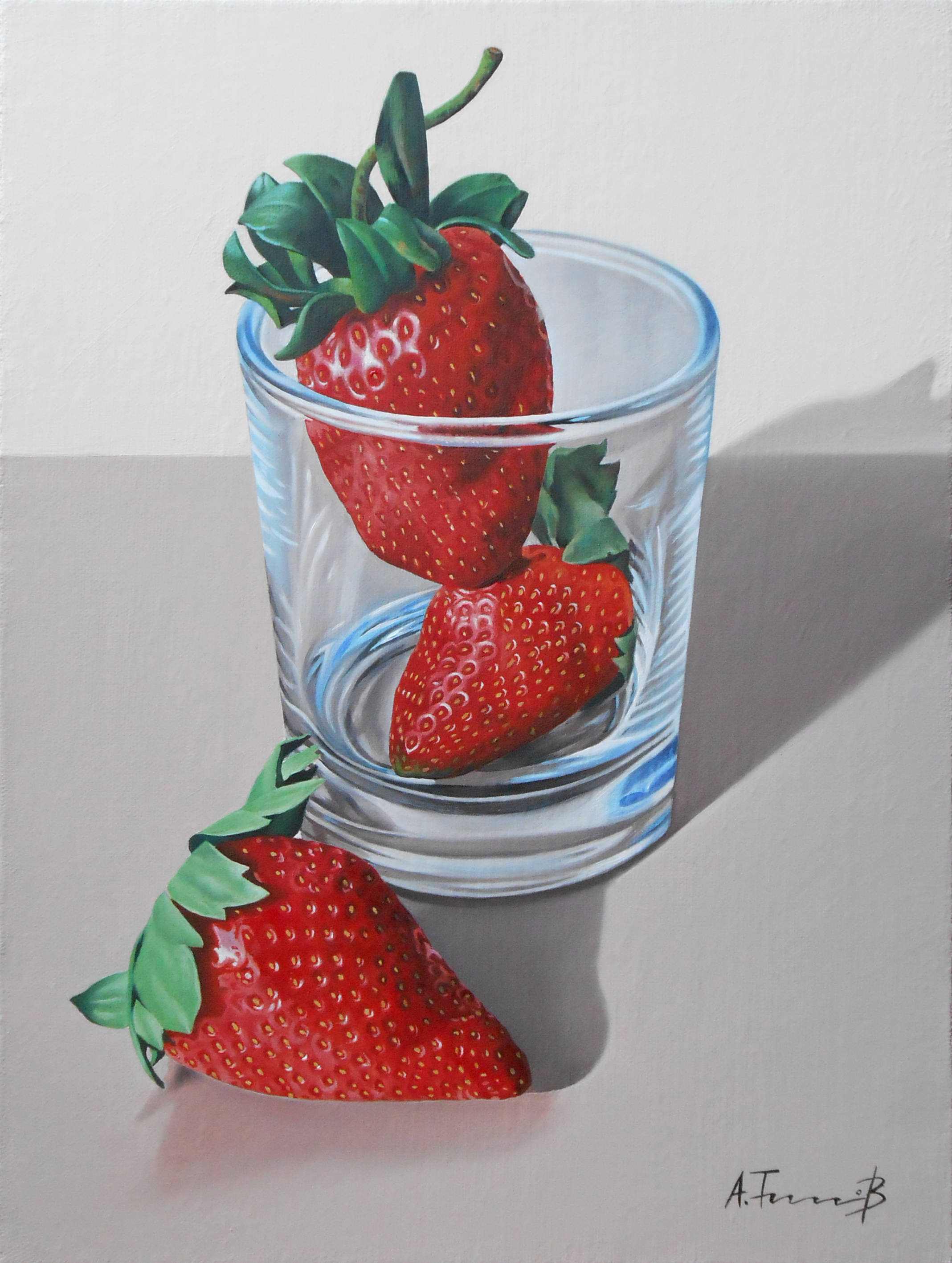 Strawberries in a Glass