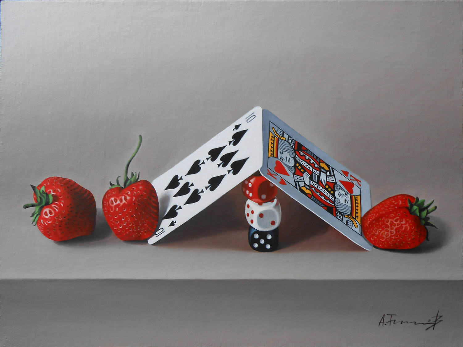 Cards, Dice and Strawberries