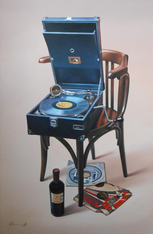 Retro Gramophone