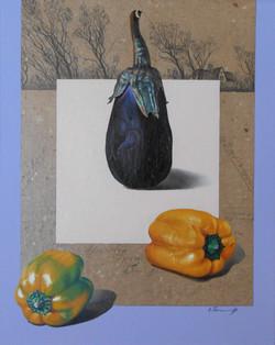 Still Life With an Eggplant