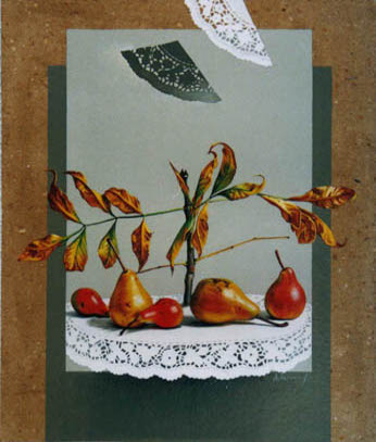 Autumn Still Life with Pears