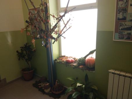 Jesenski eko-kutak u našoj školi