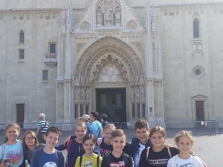 Izvanučionička nastava u Zagreb