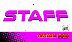 Cave Con Staff badge