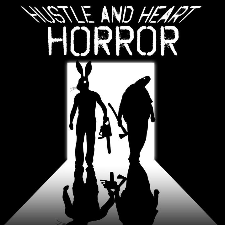 Hustle and Heart Horror Logo
