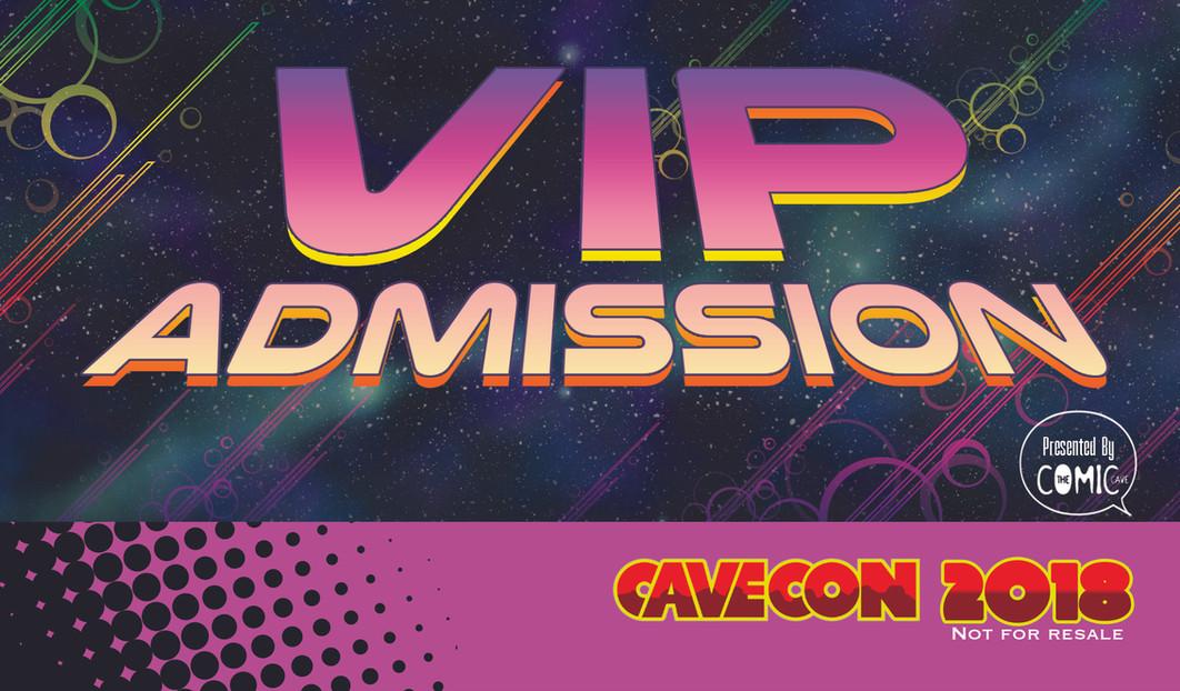 Cave Con VIP Badge