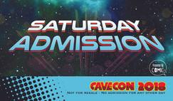Cave Con Saturday badge