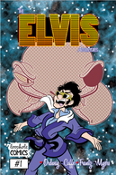 The Elvis Adventures Comic Logo