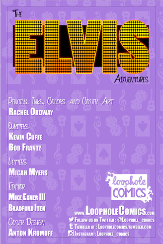 The Elvis Adventures internal cover