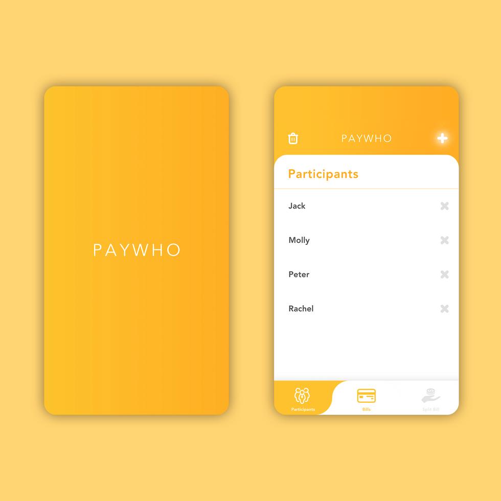 PayWho: Quick Split Bill 2
