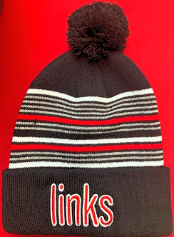 LINKS STRIPE STOCKING CAP