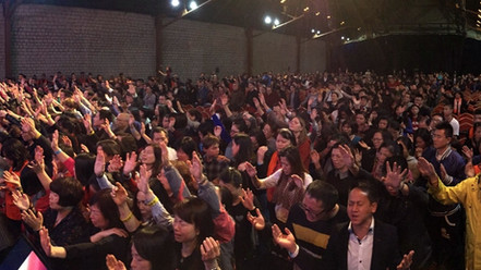 Revival Europe Conference - Praying for France
