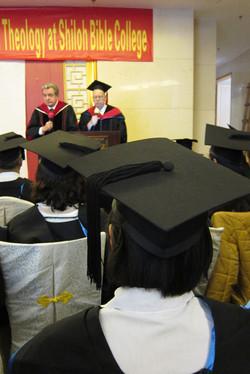 First batch of B.TH graduates