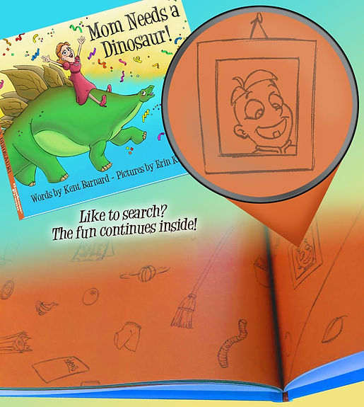 Mom Needs a Dinosaur! Search Game Inside the Book!