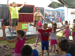 Super Storytime Event at Wild Rose Days with The Barnards!
