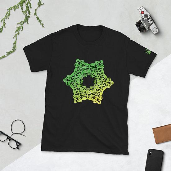 Lingit Frog Formline Mandala - Short-Sleeve Unisex T-Shirt