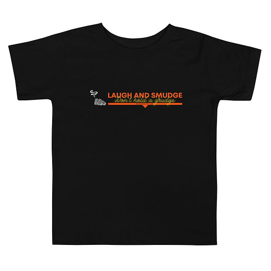 Laugh & Smudge - Toddler Short Sleeve Tee