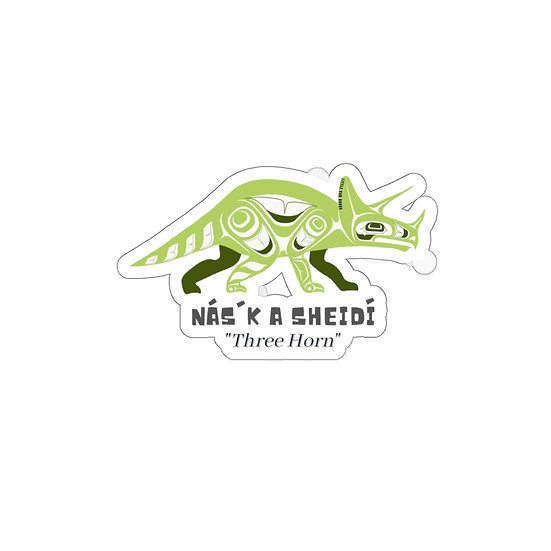 Waterproof Triceratops Sticker