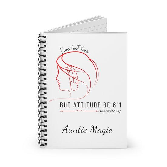 Attitude Spiral Notebook - Ruled Line