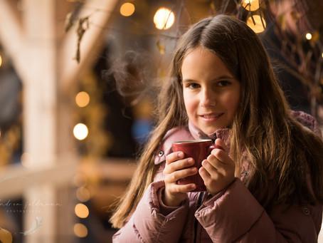 Weihnachtsshooting auf dem Weihnachtsmarkt