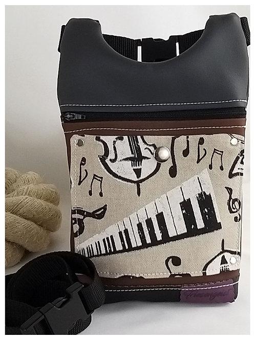Gürteltasche Piano