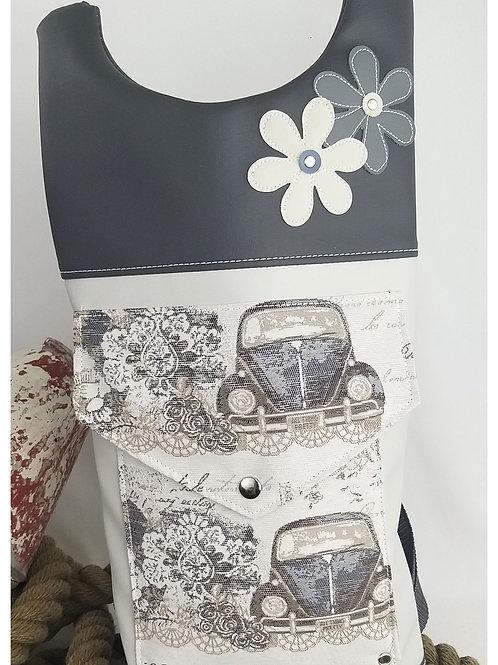 Damenrucksack  Vintage VW Käfer