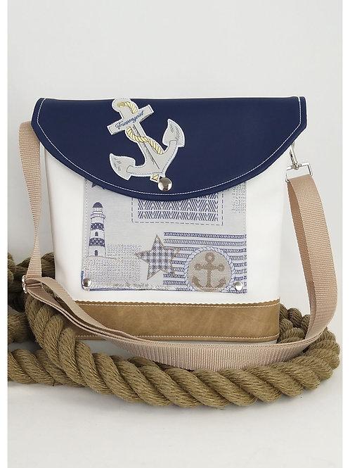 kleine maritime Tasche