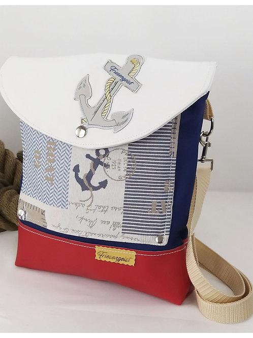 maritime Handtasche