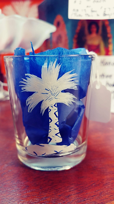 Palmetto Tree Candle Holder