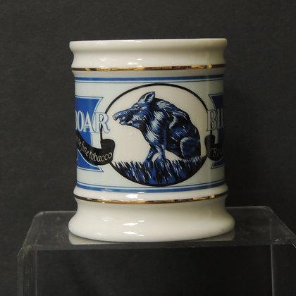 Franklin Porcelain- Blue Boar Tobacco Mug