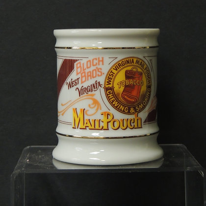 Franklin Porcelain-Mail Pouch Tobacco Mug