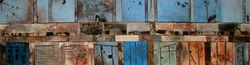 Doors Under Blue Sky