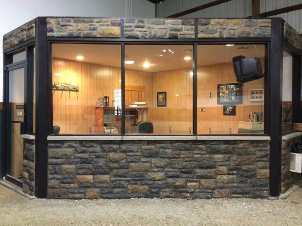 Highland Farm NJ Indoor Viewing Area