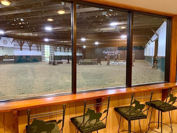 Highland Farm Indoor Viewing Room