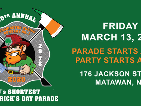 CANCELED: 10th Annual Shortest St. Patrick's Day Parade